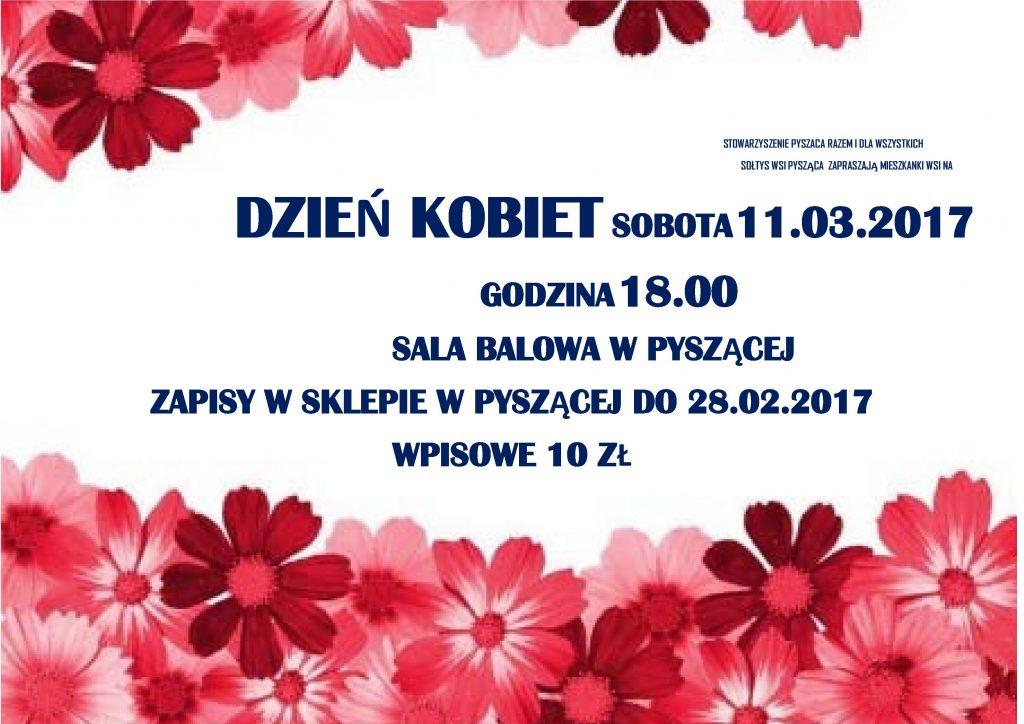 dzień kobiet plakat 2017