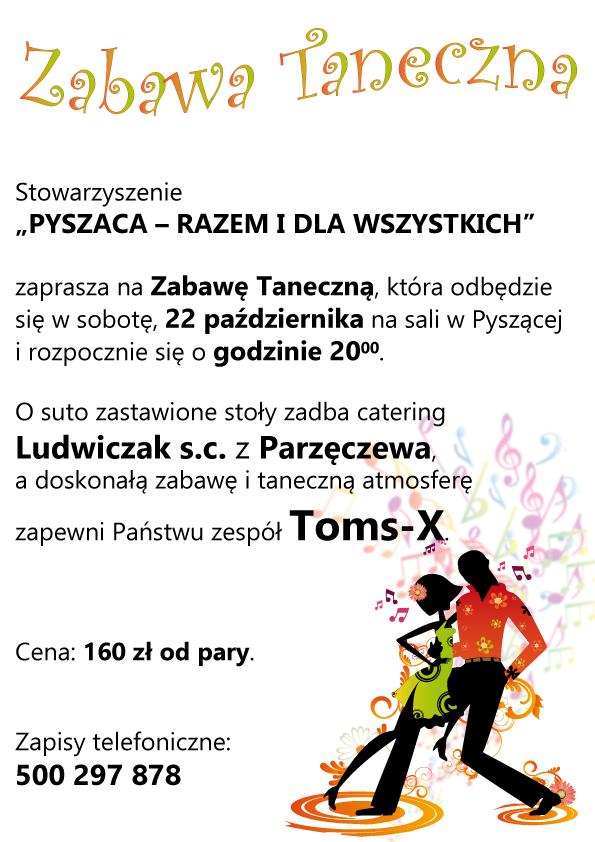 Zabawa taneczna 2016